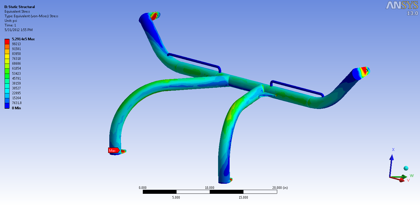 350z Harness Bar von-Mises Stress 1.png
